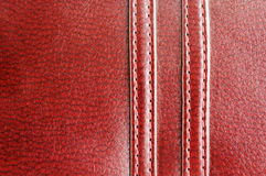 Close-up genuine leather background Royalty Free Stock Images