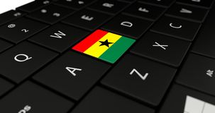Close up of Ghana button. Stock Images