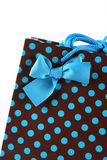 Close-up of a gift bag. Stock Images