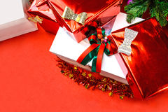 Close up of gift boxes Stock Photography