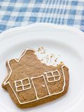 Close-Up Of Gingerbread House Stock Image