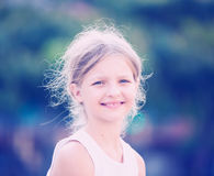 Close up girl smiling Royalty Free Stock Photography
