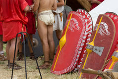 Close-up of a Gladiator Royalty Free Stock Photography