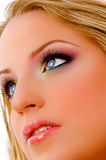 Close up of glamorous model Stock Images