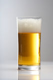 Close up of glass of beer Royalty Free Stock Photos