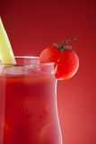 Close-up of glass with bloody Mary Stock Photos