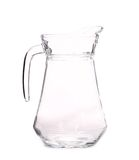 Close up of glass carafe. Stock Photo