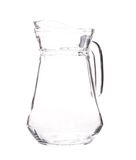 Close up of glass carafe. Stock Photos