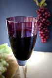 Close up glass of grape juice Royalty Free Stock Image