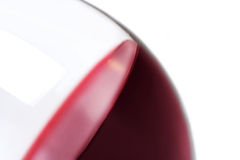 Close-up of glass with red wine Stock Photography