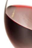 Close-up of glass with red wine Royalty Free Stock Image