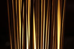 Close up of a glowing standing reed light Stock Images