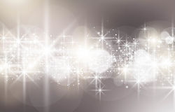 Close up of glowing star light. This image was made by an Illustrator CS5. Vector EPS 10 format Stock Photo