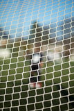 Close-up of goal net Royalty Free Stock Photos