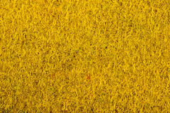 Close up of golden colored felt textile for background Royalty Free Stock Photography