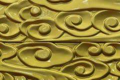 Close-up Golden Filigree Gloss Texture Background. Close-up Golden  Filigree Gloss Texture Background Royalty Free Stock Photos