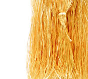 Close-up golden tassel Royalty Free Stock Photos