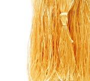 Close-up golden tassel Royalty Free Stock Photos