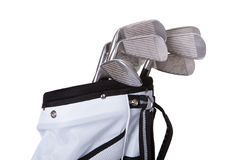 Close-up Of A Golf Bag Royalty Free Stock Photo