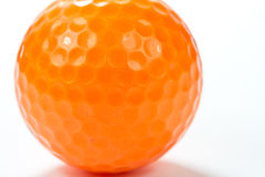 Close up golf ball Royalty Free Stock Photos