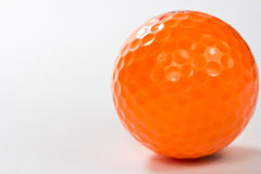 Close up golf ball Stock Photography