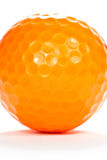 Close up golf ball Stock Images