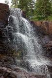A close up of Gooseberry Falls. A closer view of Gooseberry Falls Stock Image