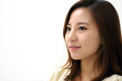 Close-up of a gorgeous young asian businesswoman Royalty Free Stock Photos