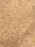 Close up of the grains of sand Stock Photo