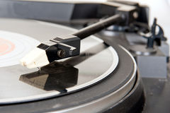 Needle and vinyl Royalty Free Stock Photos