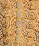 Close up granite carving in chinese temple. Royalty Free Stock Image