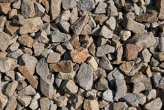 Close up of Granite stones Royalty Free Stock Photos