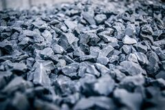 Close up of gravel Royalty Free Stock Images