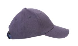 Close up of gray cap. Royalty Free Stock Photo