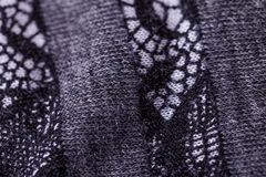 Close up Gray Flax Linen fotos de stock royalty free