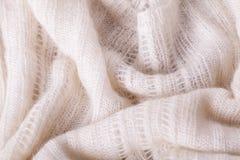 Close up Gray Flax Linen imagens de stock