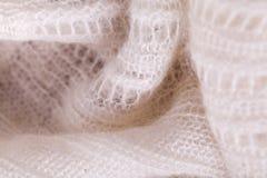 Close up Gray Flax Linen fotografia de stock royalty free