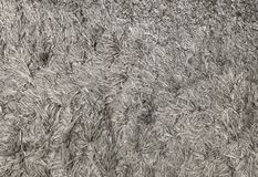 Close Up Gray Fluffy Fabric Texture Background Royalty Free Stock Photo