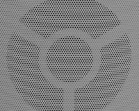 Close Up of Gray Metal Grid Texture Background Royalty Free Stock Photo