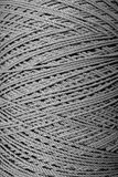 Close up gray rope texture. Stock Image