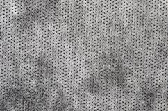 Textured synthetical background. Close up of gray textured synthetical background Stock Photography