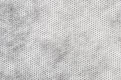 Textured synthetical background. Close up of gray textured synthetical background Stock Photos