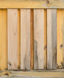Close up of gray wooden fence panels Stock Photos