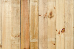 Close up of gray wooden fence panels Royalty Free Stock Image