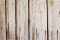 Close up of gray wooden fence panels, perspective Royalty Free Stock Photography