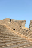 A close-up of the Great Wall Royalty Free Stock Photo