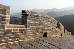 A close-up of the Great Wall Royalty Free Stock Image