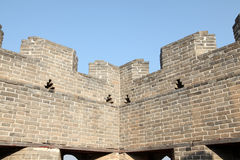A close-up of the Great Wall Stock Images