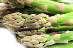 Close-up of green asparagus Royalty Free Stock Photography