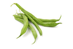 Close up of green beans Royalty Free Stock Image